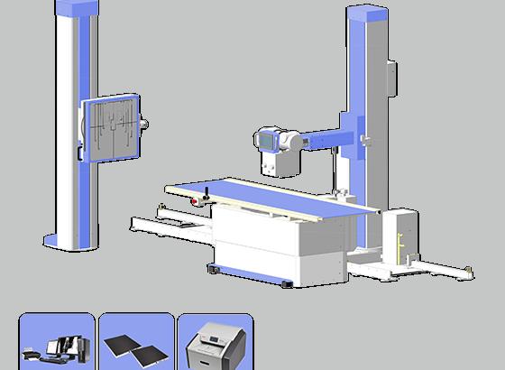 Рентгеновский диагностический комплекс на 2 рабочих места «ДИАКОМ»