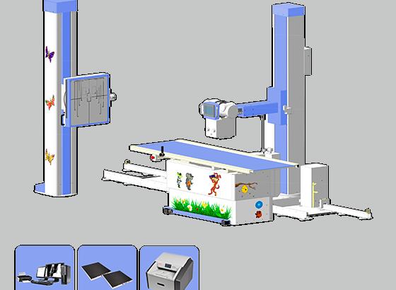 Рентгеновские аппараты и комплексы для педиатрии